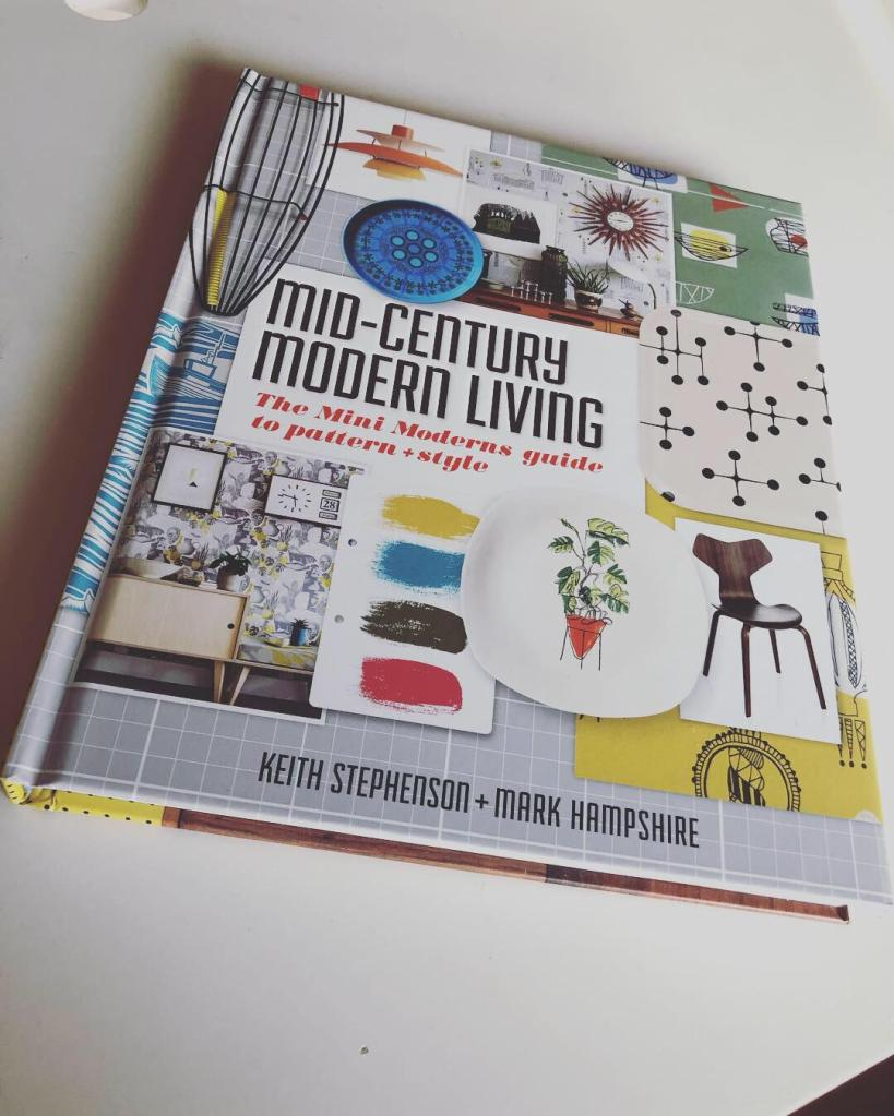 Cover of Mid-century Modern Living book by Mini Moderns